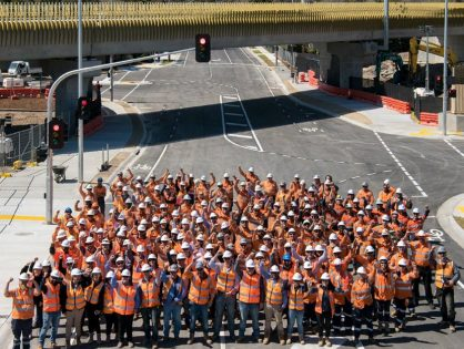 Seaford Road Level Crossing Removal Completed